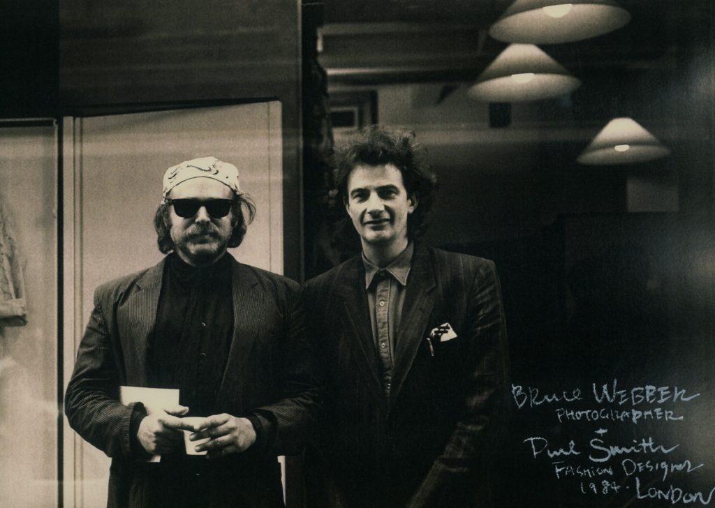 Bruce Weber + Paul Smith (© by Yuriko Takagi)